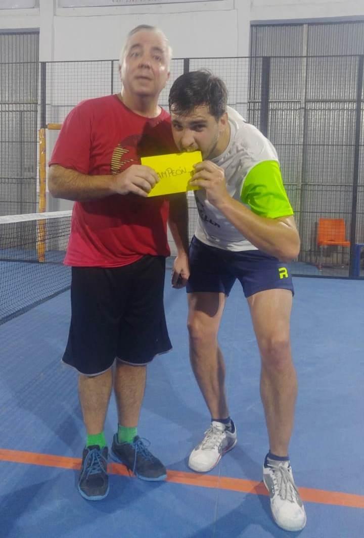 Gabriel Hernaez – Luciano Mantovani campeones de Padel