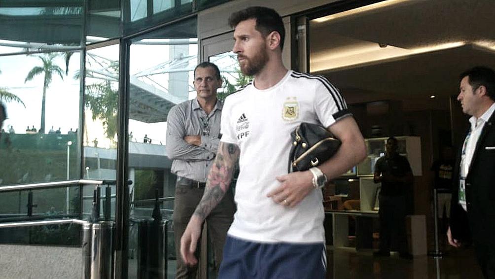 Messi ya descansa en Rosario, pero todavía retumban sus declaraciones contra la Conmebol