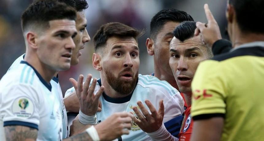 Una fecha de suspensión para Messi