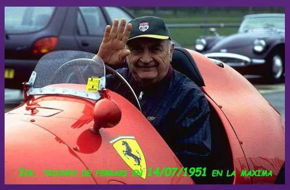 Se cumplen hoy 69 años del primer triunfo de Ferrari en la F1