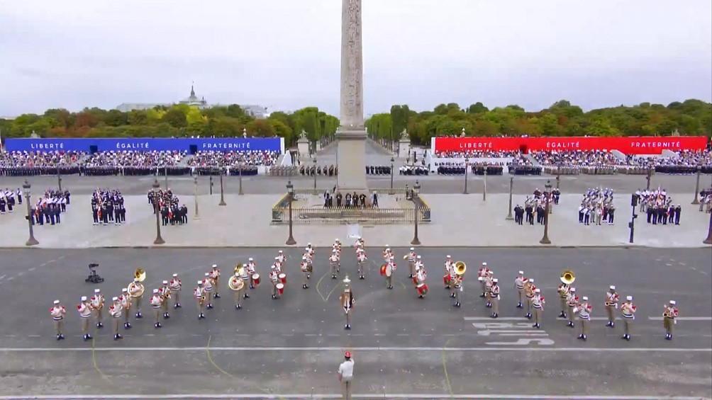 Francia celebró su Día Nacional entre barbijos y homenajes a los trabajadores muertos