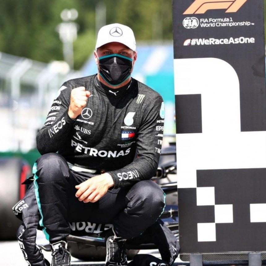 Bottas ganó el Gran Premio de Austria 2020 de Fórmula 1
