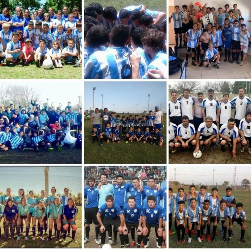 Aniversario del Club Defensores de Del Carril