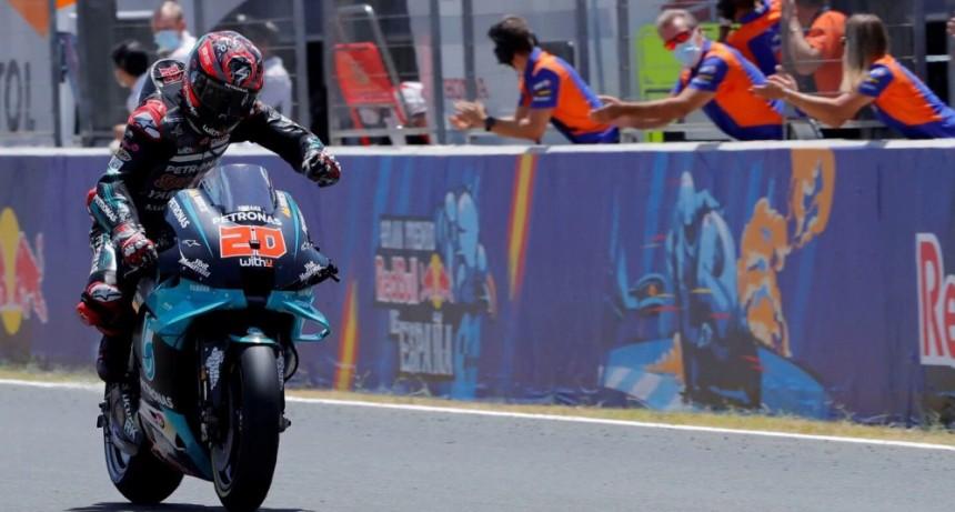 Quartararo logra su primera victoria en MotoGP