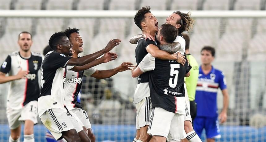 Juventus, de la mano de Cristiano, campeón de la Serie A