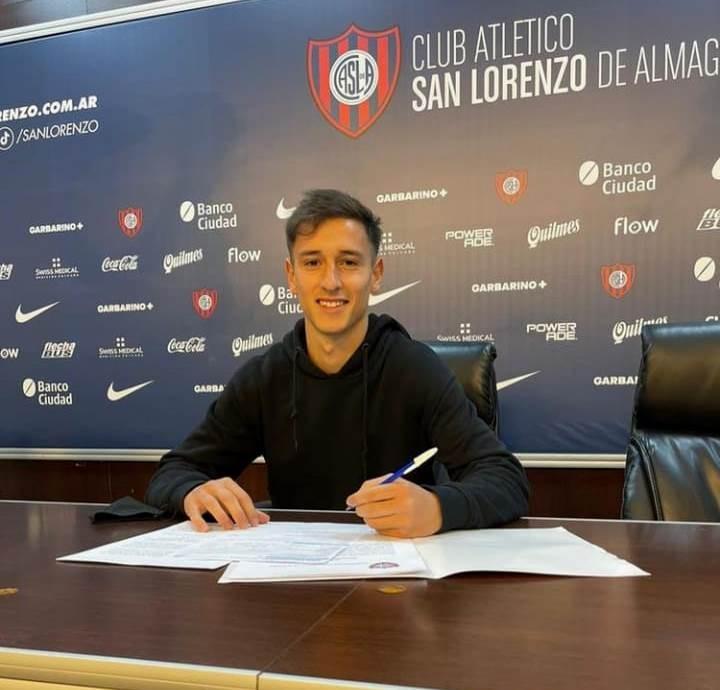Martín Lombardi es jugador de San Lorenzo de Almagro