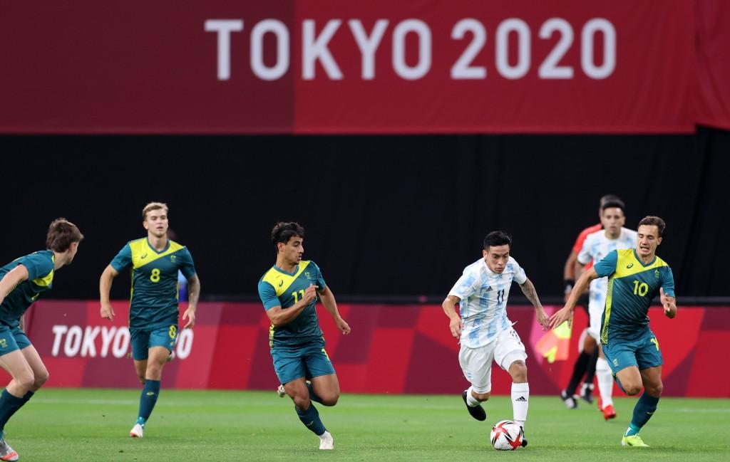 Juegos Olímpicos: Argentina perdió ante Australia en el debut del fútbol
