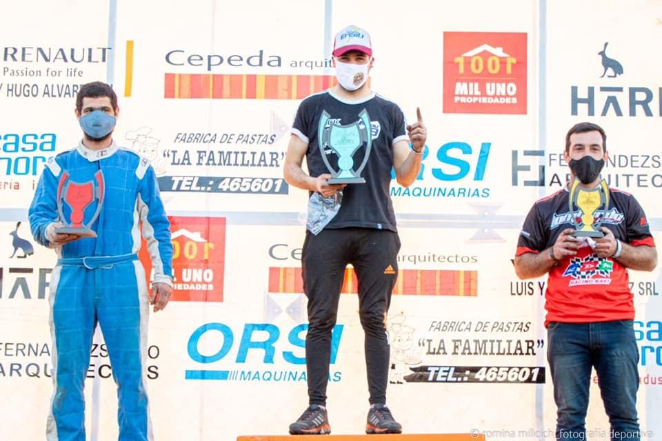 Pilotos de Saladillo corrieron la primera fecha del kart en 25 de Mayo