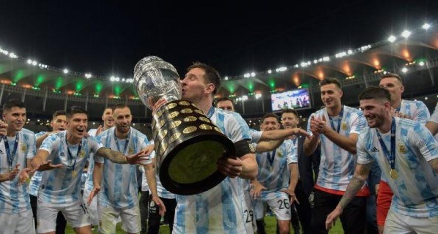 La selección DIBU jo una sonrisa para toda Argentina