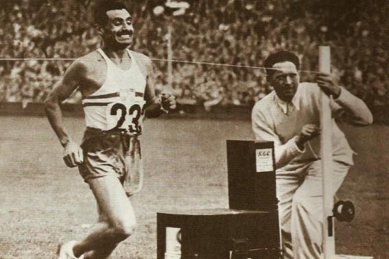 Hoy: Delfo Cabrera, uno de los cinco mejores atletas de la historia