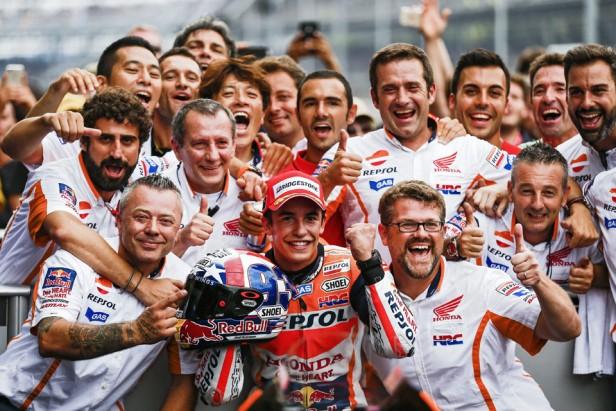 Marc Márquez ganó el Moto GP en Indianápolis