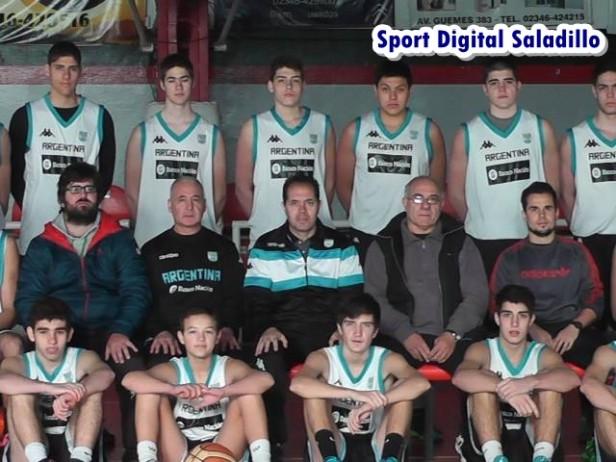 Santiago Mazza participó en el Campus organizado por la Confederación Argentina de Básquet