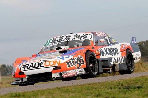 Bruno fue tercero en la serie del TC Pista en Olavarria