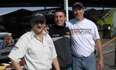 """Juan M. Bruno: """"Muchas gracias a todo el equipo, a Giustozzi, a todos los sponsors que hacen un esfuerzo enorme para apoyarnos, a mi familia y a toda la gente de Saladillo"""""""
