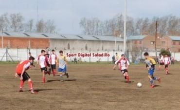 Primer partido para las finales de las Divisiones Inferiores