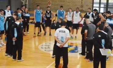 Selección Argentina con Marcos Delía se van para el Preolímpico