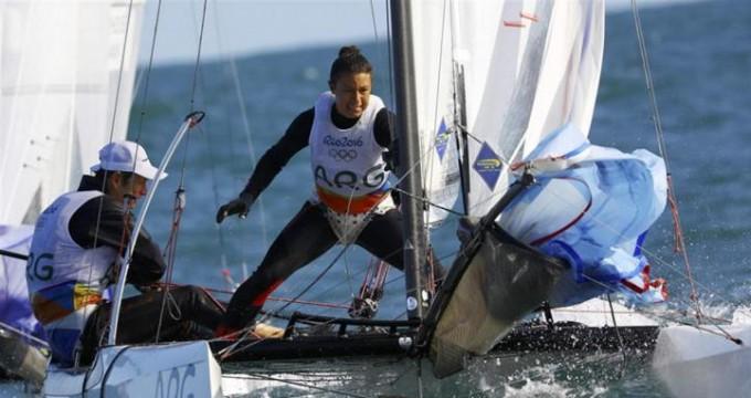 Segunda medalla dorada para Argentina: Santiago Lange y Cecilia Carranza se subieron a lo más alto del podio