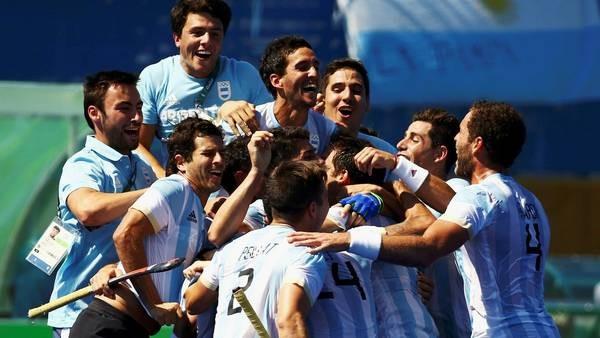 """El hockey argentino al ritmo de """"Vivaldi"""" en la final Olímpica"""