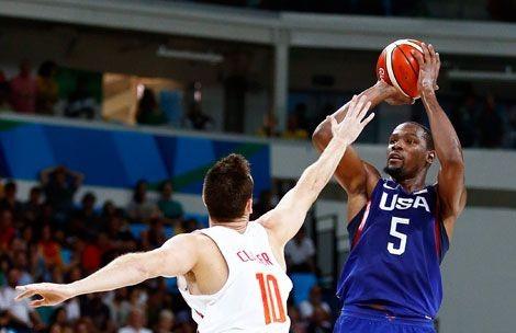 O melhor basquet do mundo: Estados Unidos logró el oro olímpico al ganarle a Serbia 96-66