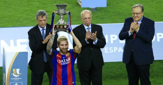 Barcelona y Messi, Súpercampeones de España