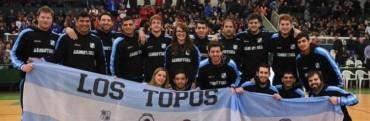 """Selección Argentina de Básquet de Sordos """"Los Topos"""" estará en Saladillo"""