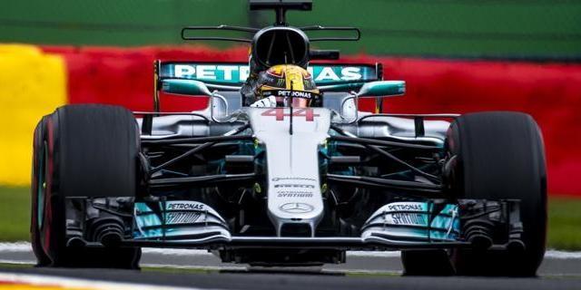 Victoria de Lewis Hamilton en Spa-Francorchamps