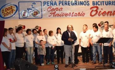 Cena aniversario de la Peña Peregrinos de Biciturismo de Saladillo