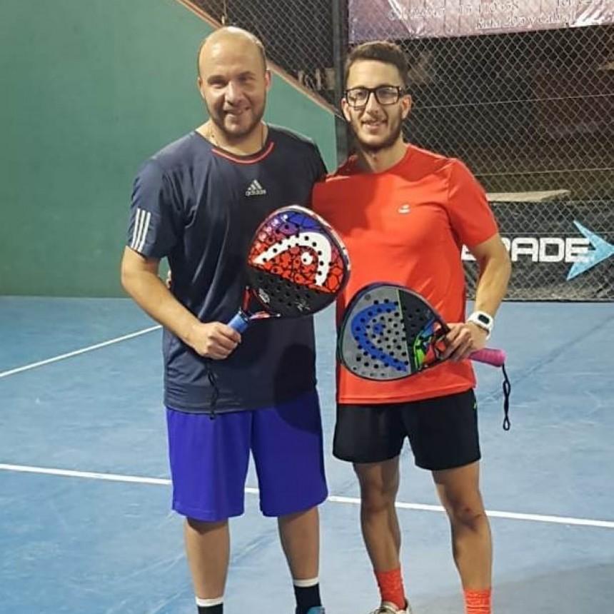 Ariel Ferreyra – Emanuel Pacheco campeones de sexta categoría