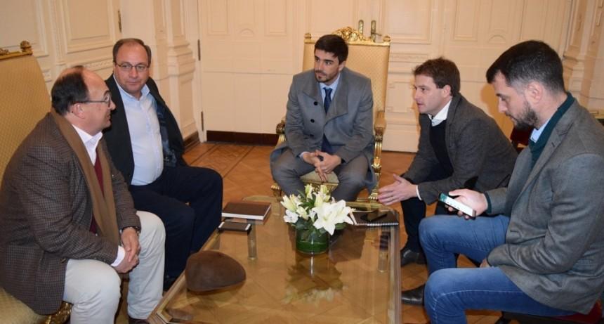 Salomon asistió a una reunión con el Subsecretario de Gobierno y Asuntos Municipales