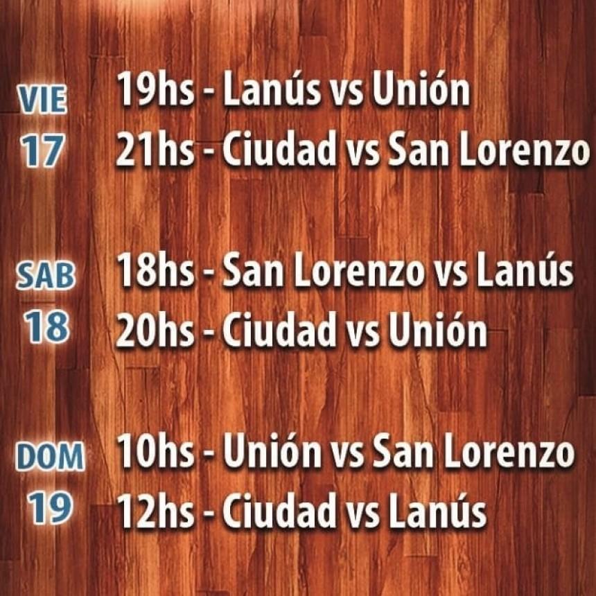 Se juega en Saladillo uno de los cuadrangulares del Argentino de clubes sub19