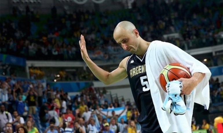 Se retiro Emanuel Ginobili del basquet