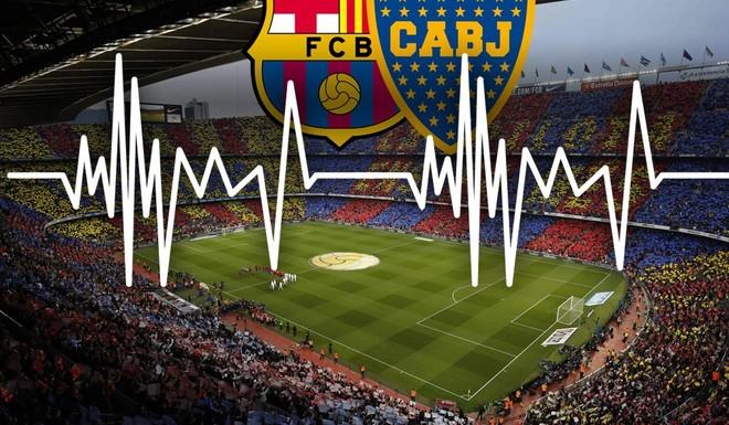 El Barsa invitó a Boca a hacer temblar el Camp Nou