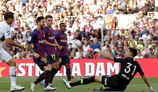 Barcelona le ganó a Boca 3 a 0