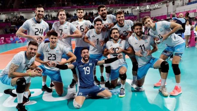 Argentina obtuvo la medalla de oro en el vóleibol masculino