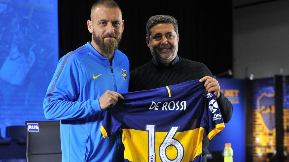 Daniele De Rossi sería titular ante Almagro por la Copa Argentina