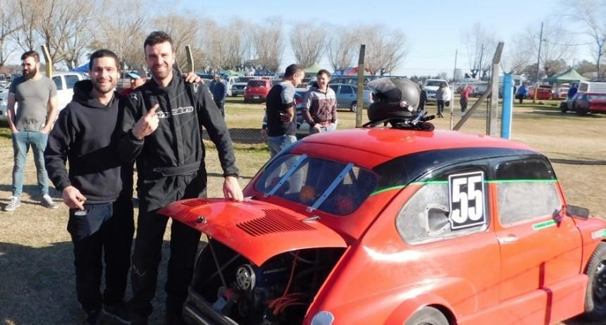 Fernando Dezeo ganó en el Ciclón del Saladillo Automóvil club