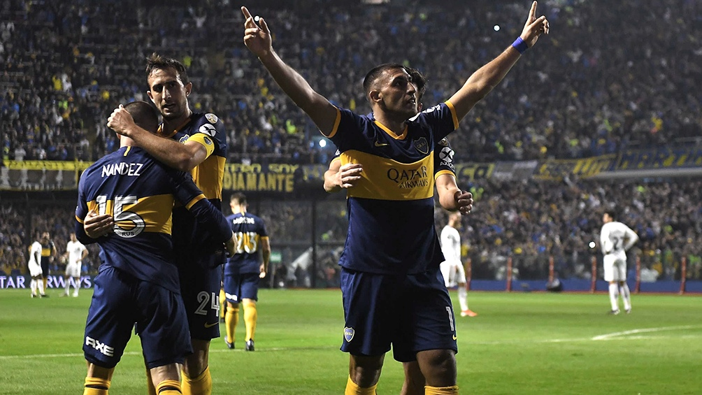 Boca pasó a cuartos de final tras vencer nuevamente a Athlético Paranaense