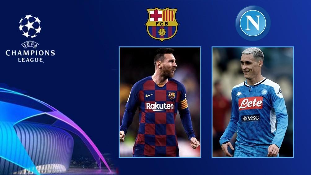 Barcelona busca ante Nápoli el pase a cuartos de final de la Liga de Campeones