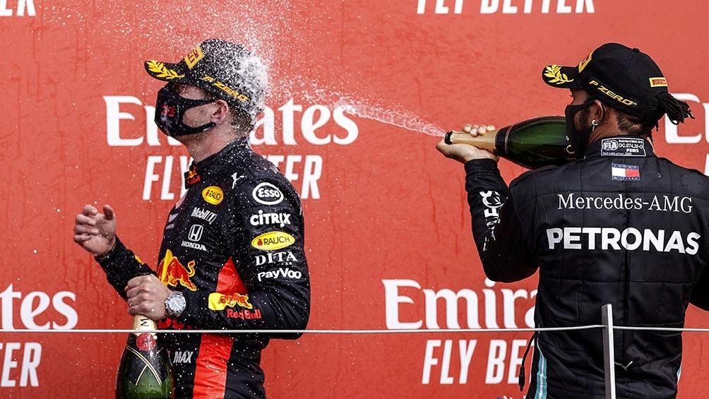 Verstappen rompió con el predomio de Mercedes en el GP 70° Aniversario