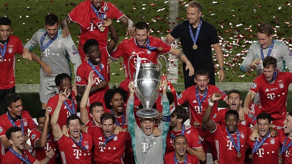 El Bayern Múnich recibirá 115 millones euros por haber ganado la Champions