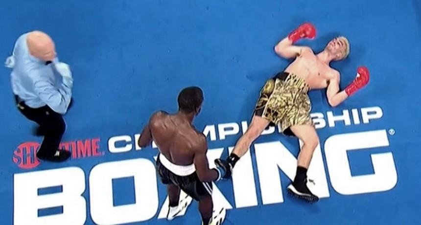 El argentino Escudero perdió por un espectacular KO en su revancha con George