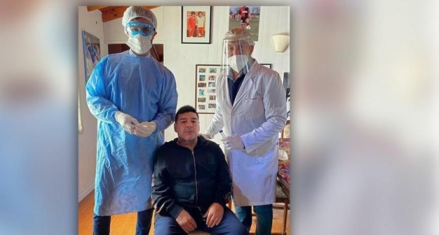 Diego Maradona se realizó el test de coronavirus