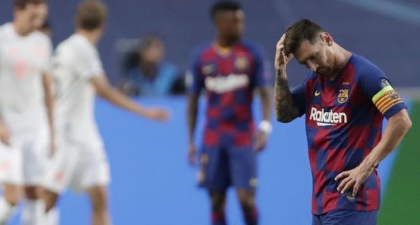 Goleada del Bayern Múnich al Barcelona por 8/2 en la Champions League