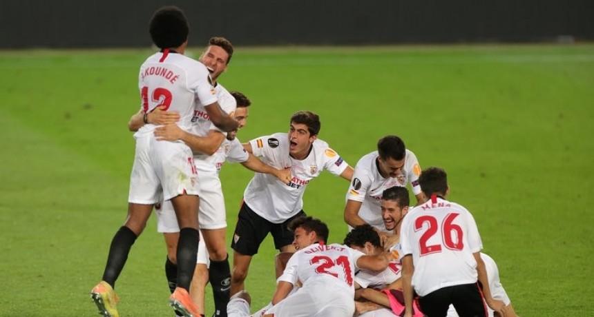 El Sevilla le ganó una electrizante final al Inter y se consagró campeón de la Europa League