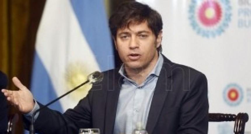 Kicillof analizará la situación epidemiológica con intendentes del interior bonaerense