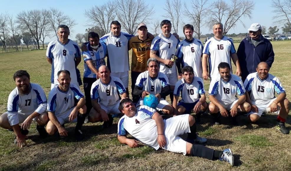 Fútbol de Veteranos: Se jugó la tercera fecha en Toledo