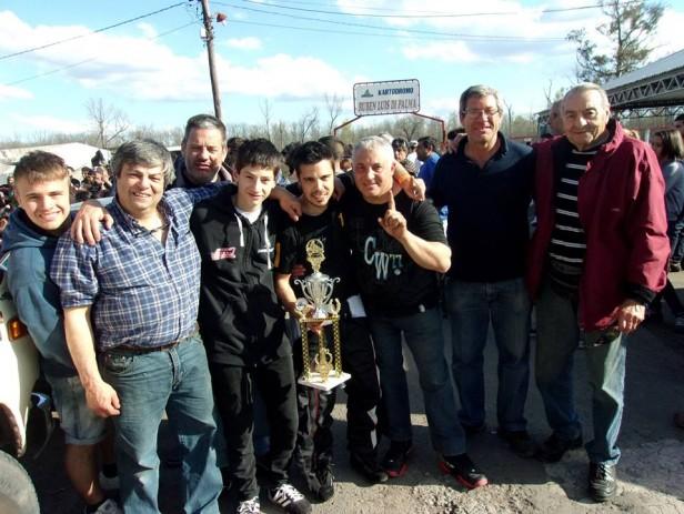 Dario Martinez se corono campeon en Ciudad Evita