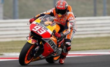 Márquez gana, Rossi resiste y Lorenzo se cae