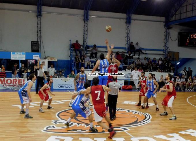 Ciudad de Saladillo perdió ante Racing 93 a 61 por el torneo local