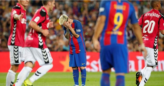 Sorpresa: cayó el Barcelona de Messi